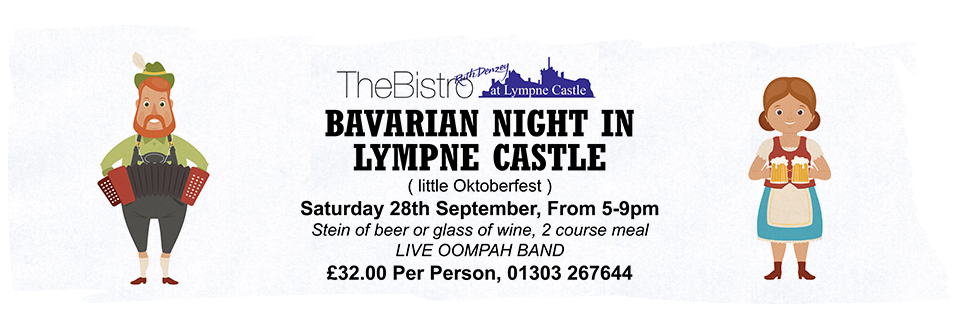 Bavarian Night at Lympne Castle 28th September 2019