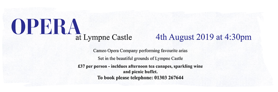 Opera at Lympne Castle 4th August 2019